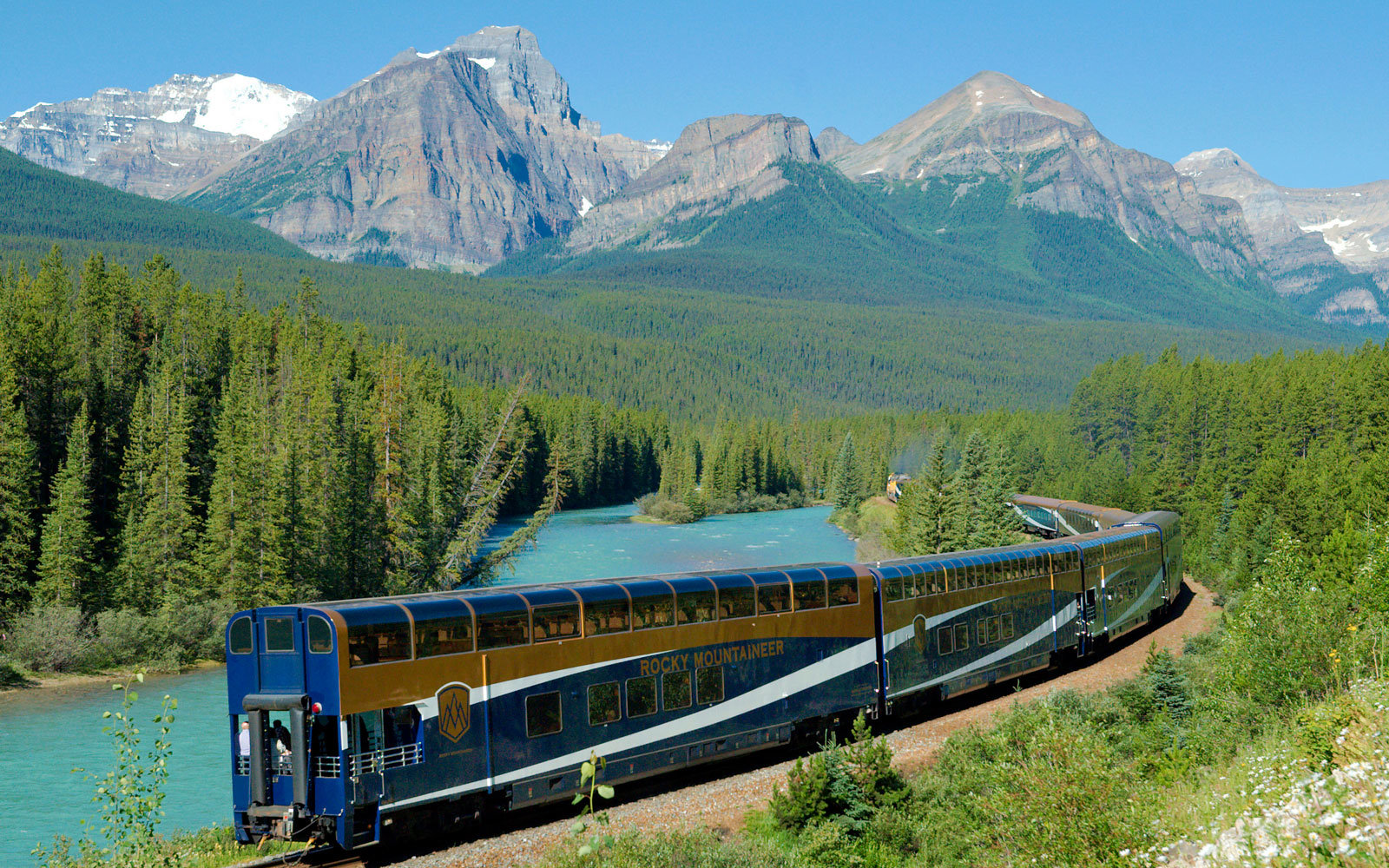 Free Fall Bc Nature Wallpaper How To Take A Solo Luxury Train Trip Through Canada S