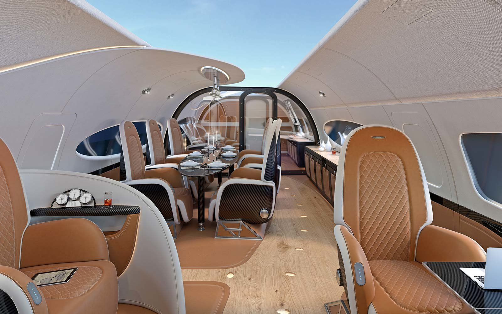 Innenausstattung A380 This Is What It's Like Inside A Private Jet Designed For