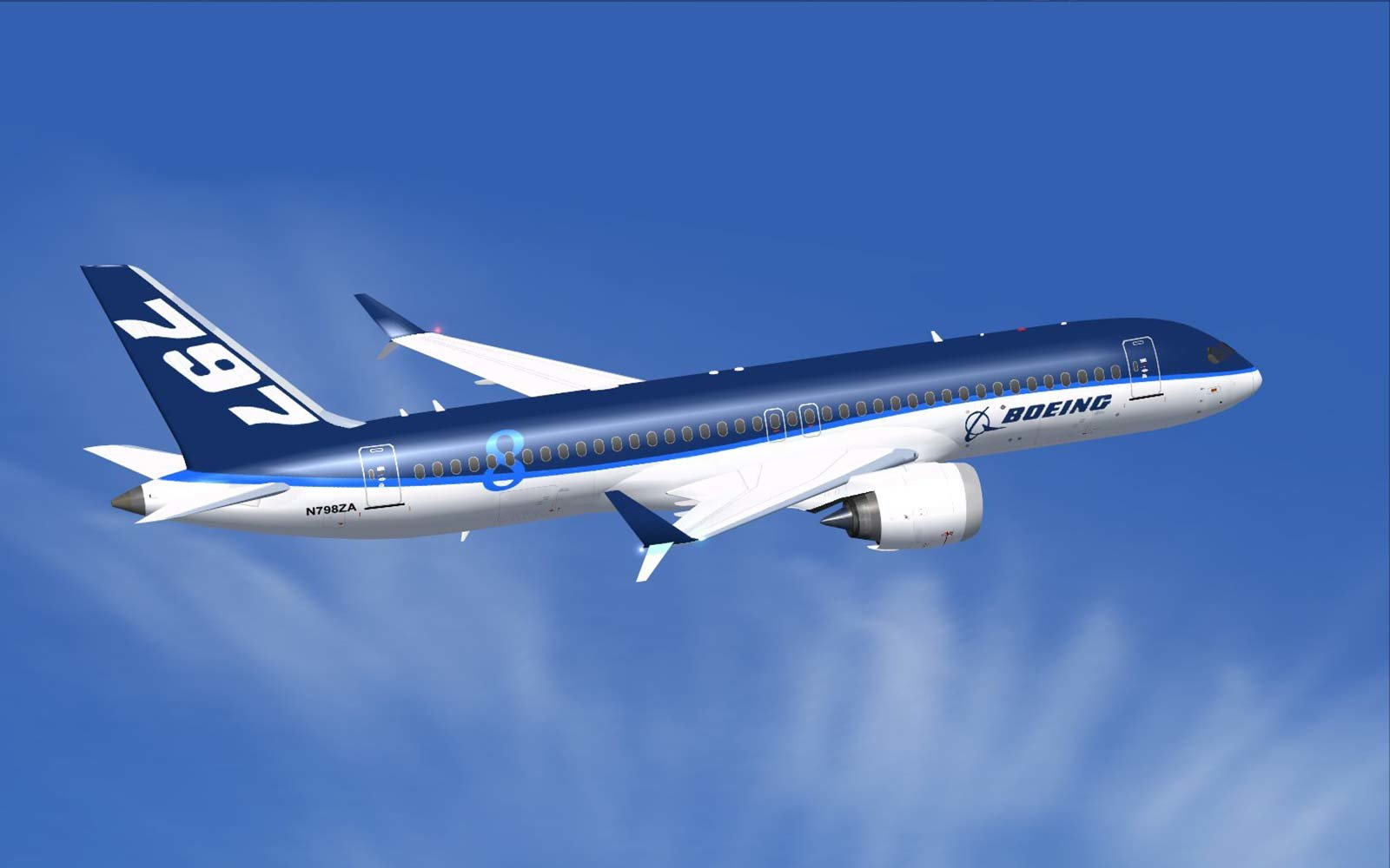 Boeing Airplane This Boeing Jet Is Only A Concept But Airlines Are
