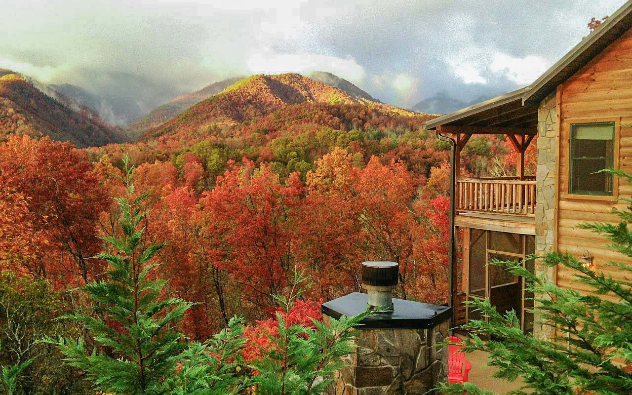 Fall In The Smokies Wallpaper The Best Cabins In The Smoky Mountains Travel Leisure