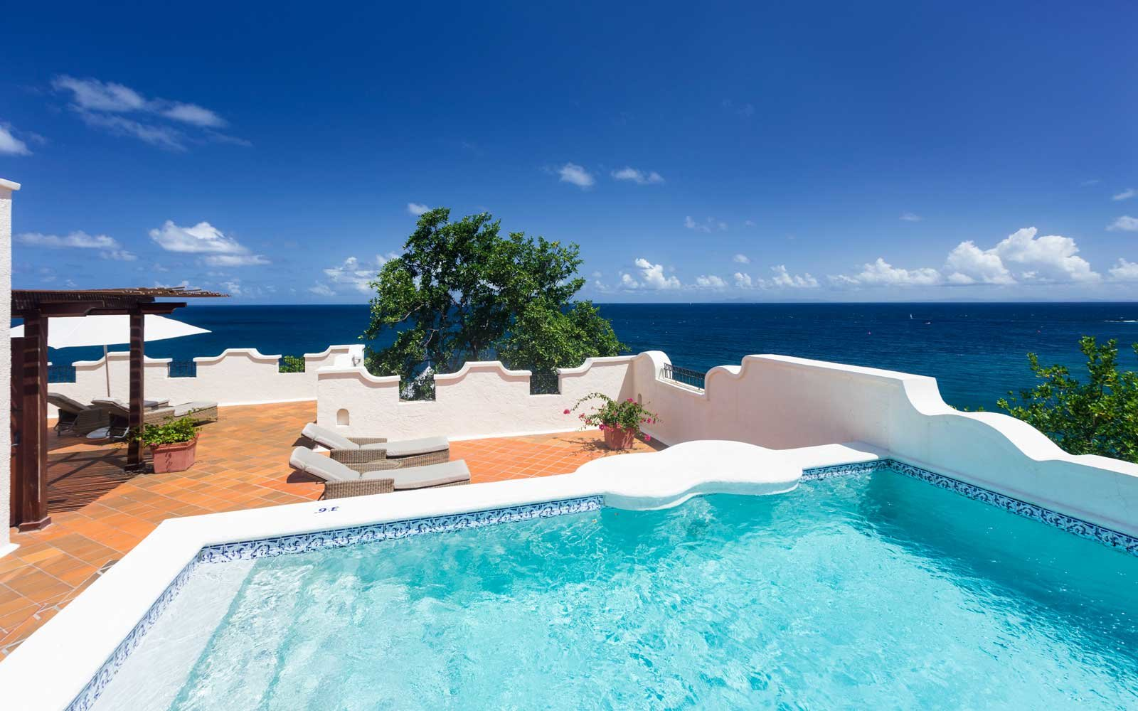 Jacuzzi Pool Top Caps The 2018 World 39s Best Resort Hotels In The Caribbean