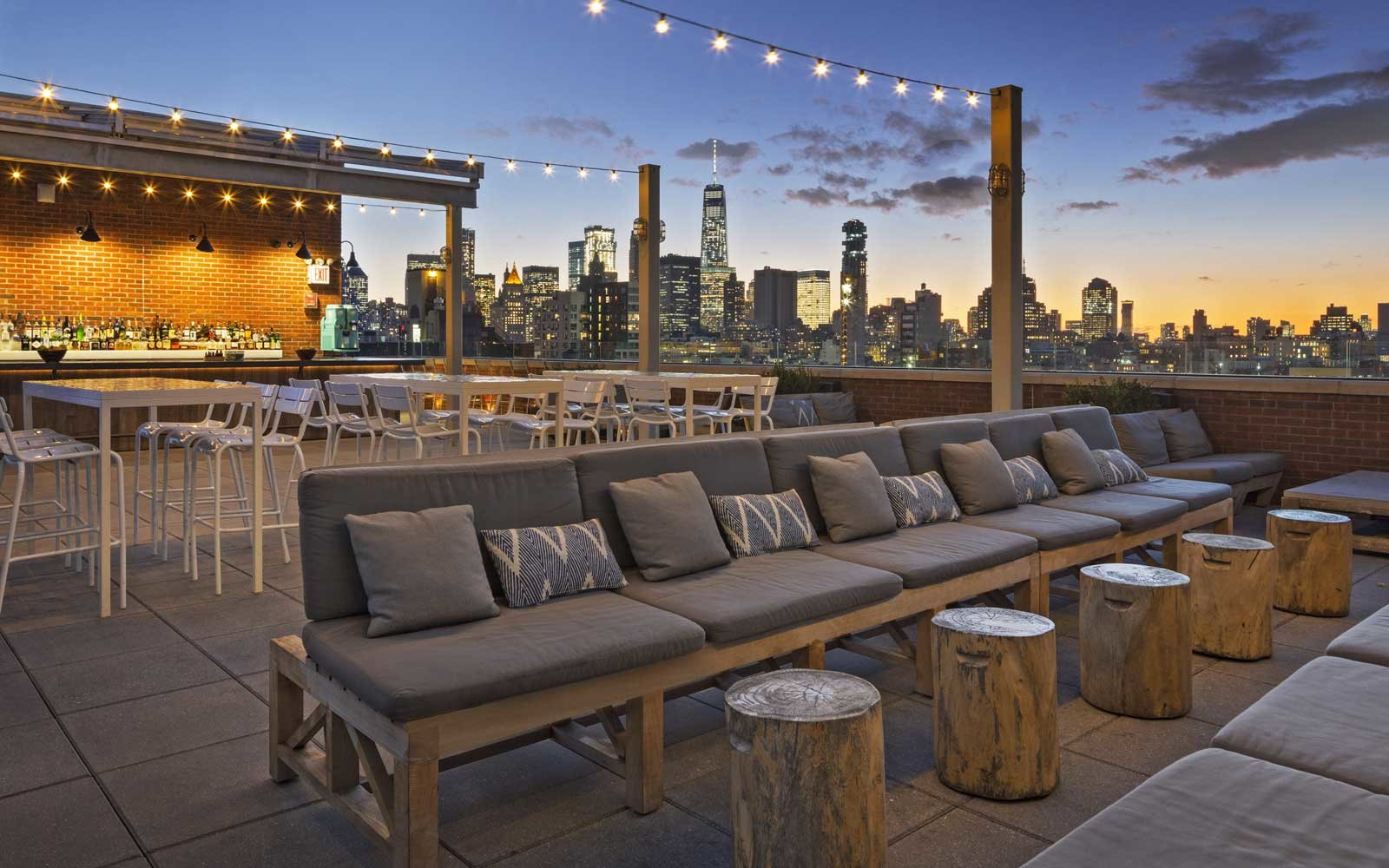 Best Rooftop Bars In Nyc Travel Leisure