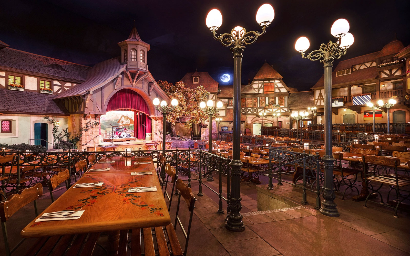 Beer Garten The Best Disney Restaurants Travel 43 Leisure