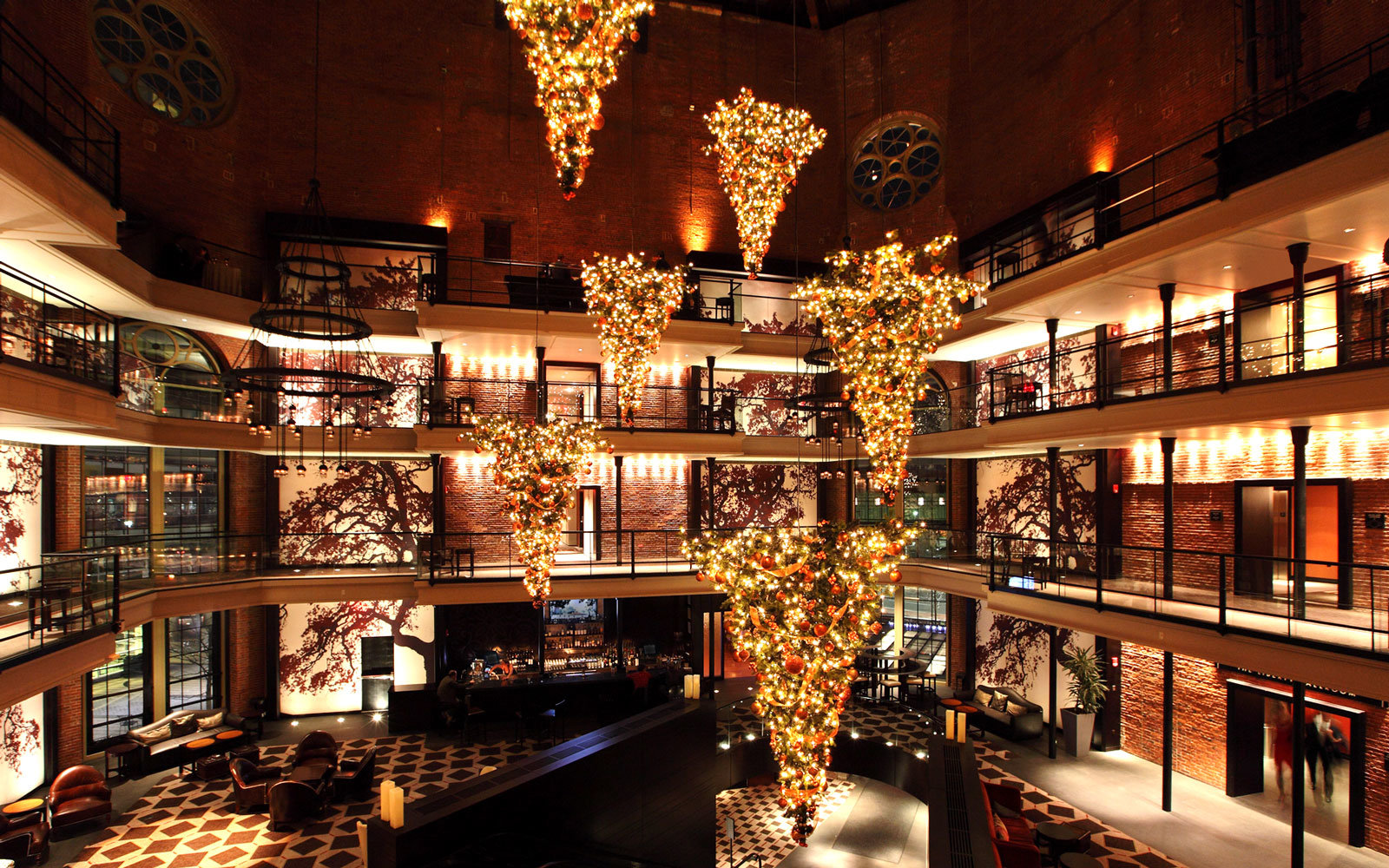 Decoration Hotel America S Best Hotels For Christmas Travel Leisure
