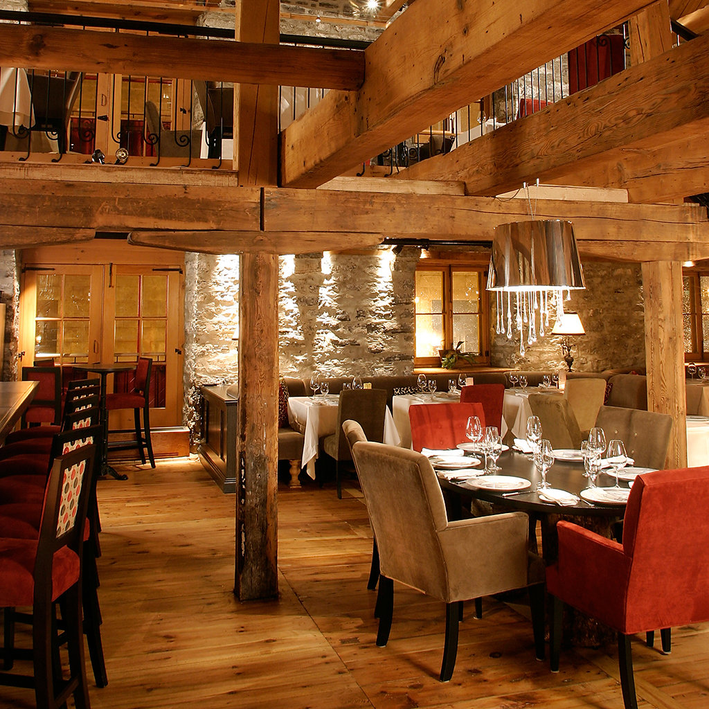 Restaurant Tables Canada Best Fine Dining Restaurants In And Around Quebec City