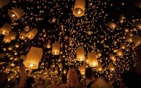 Thailands Floating Lantern Festival | Travel + Leisure