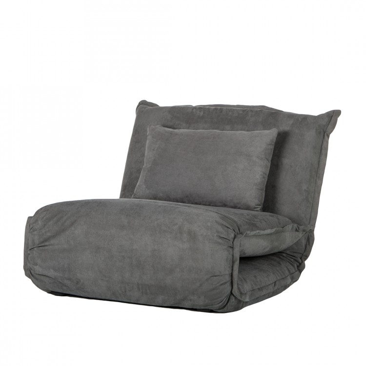 Relaxsessel Home24 Neu Sessel Schlafsessel Stoff Grau Schlafcouch Schlafsofa