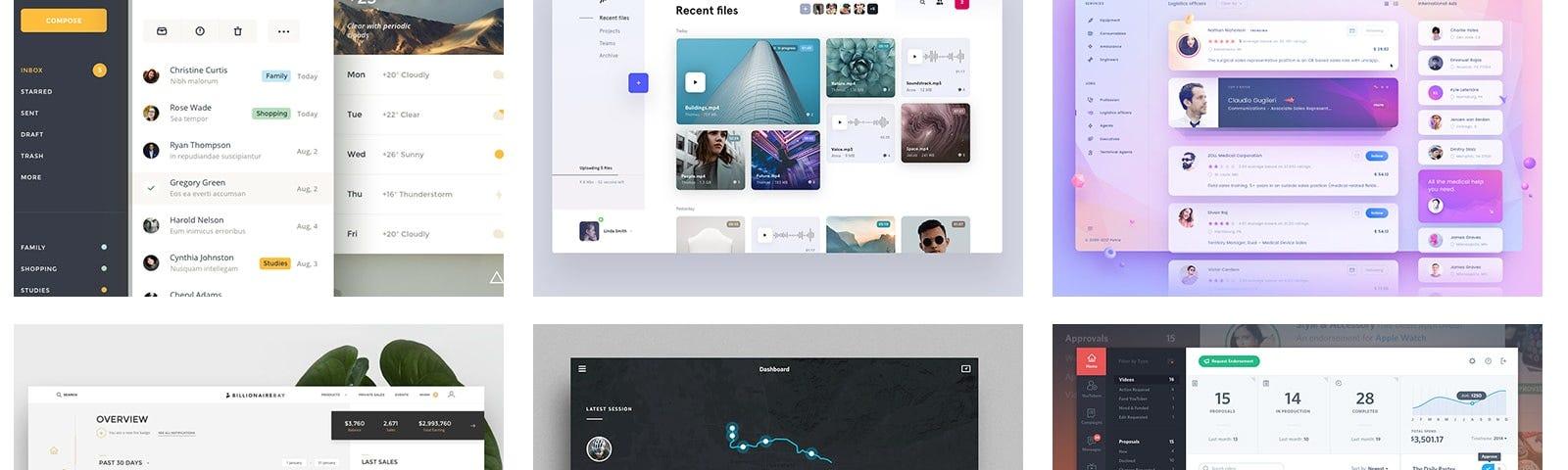 Dashboard \u2013 Muzli - Design Inspiration - dashboard design inspiration