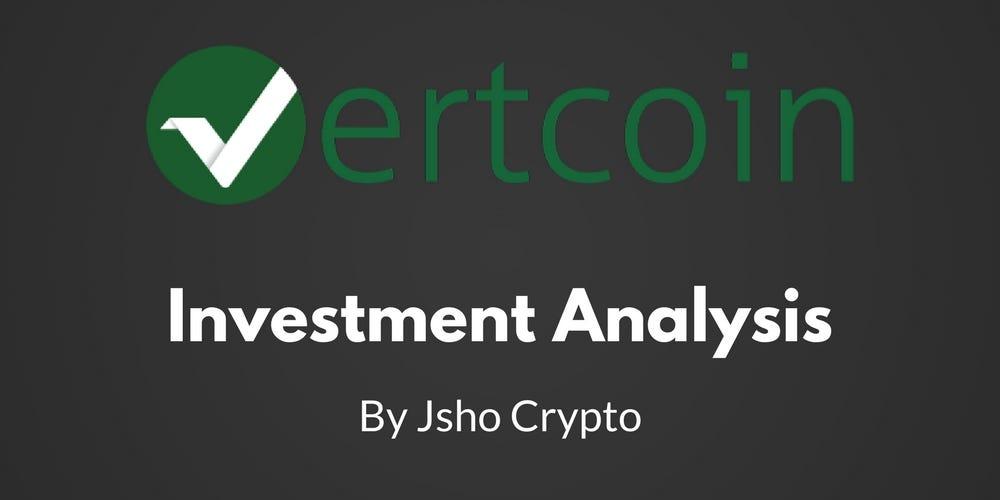 Vertcoin Investment Analysis \u2013 Jsho Crypto \u2013 Medium