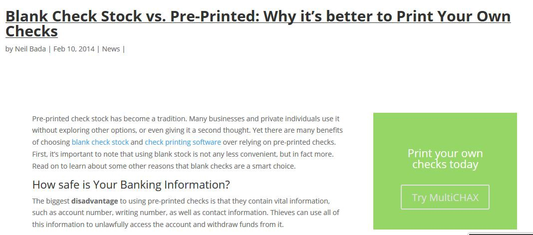 The Check Writing Partner Software Review \u2013 andreysauc \u2013 Medium