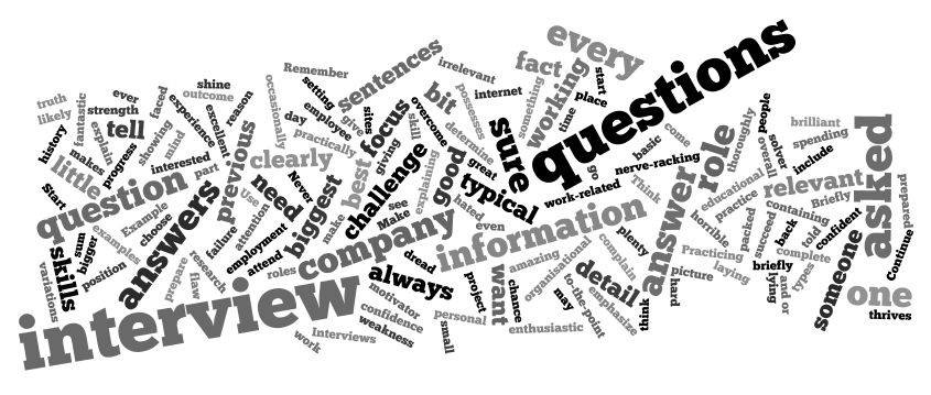Commonly asked Interview questions \u2013 Student Voices