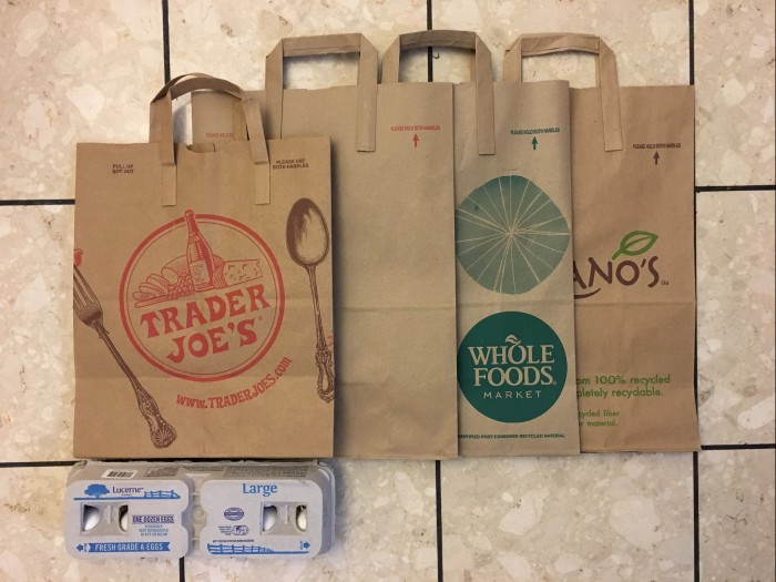 Have you ever wondered about the design of your grocery paper bag?