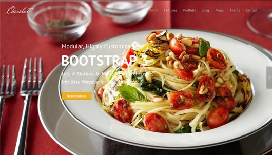 30+ Restaurant and Cafe Templates  Themes 2018 \u2013 Krissanawat