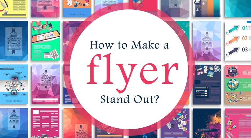 How to make a flyer stand out? \u2013 rubyprint \u2013 Medium