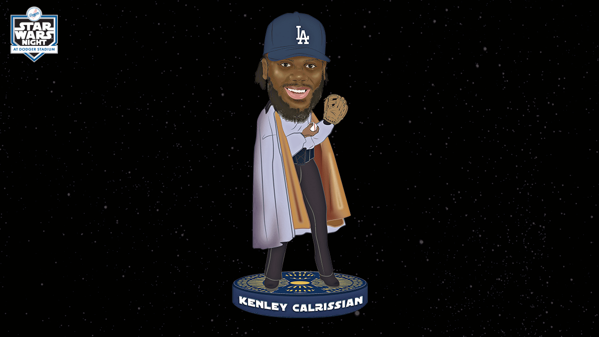 Star Wars Bettwäsche Kenley Jansen Star Wars Bobblehead Added To Promotional Schedule