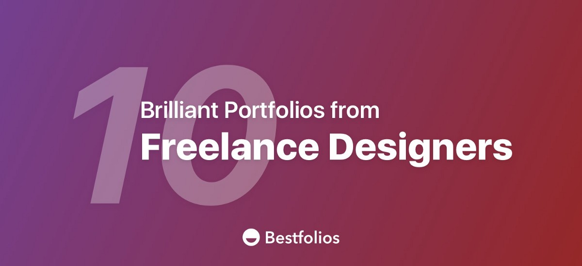 10 Brilliant Portfolio Websites from Freelance Designers