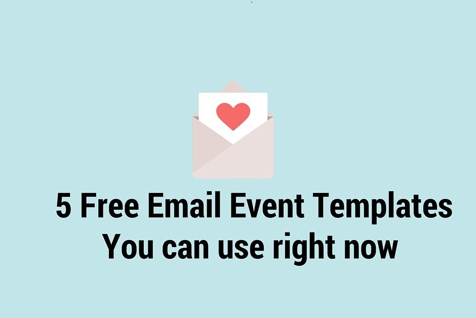5 Free Event Email Templates You Can Use Right Now \u2013 Eventgrid Blog