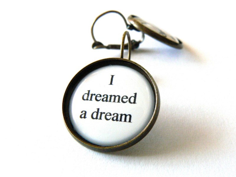 Large Of Dreamed Or Dreamt