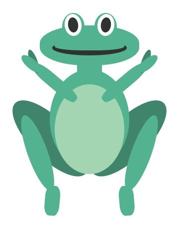 How I learned CSS by creating a frog with HTML  CSS only - frog body