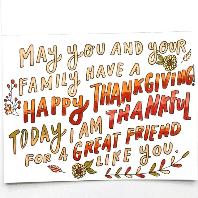 What to Write in Your Thanksgiving Cards \u2013 Punkpost \u2013 Medium