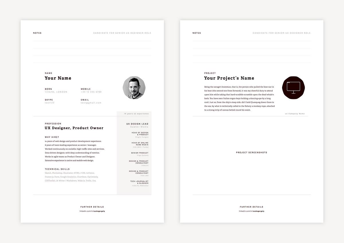 good resume app