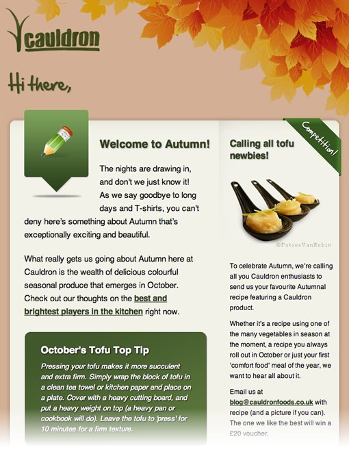 The 10 Best Examples of Awesome Email Newsletter Designs