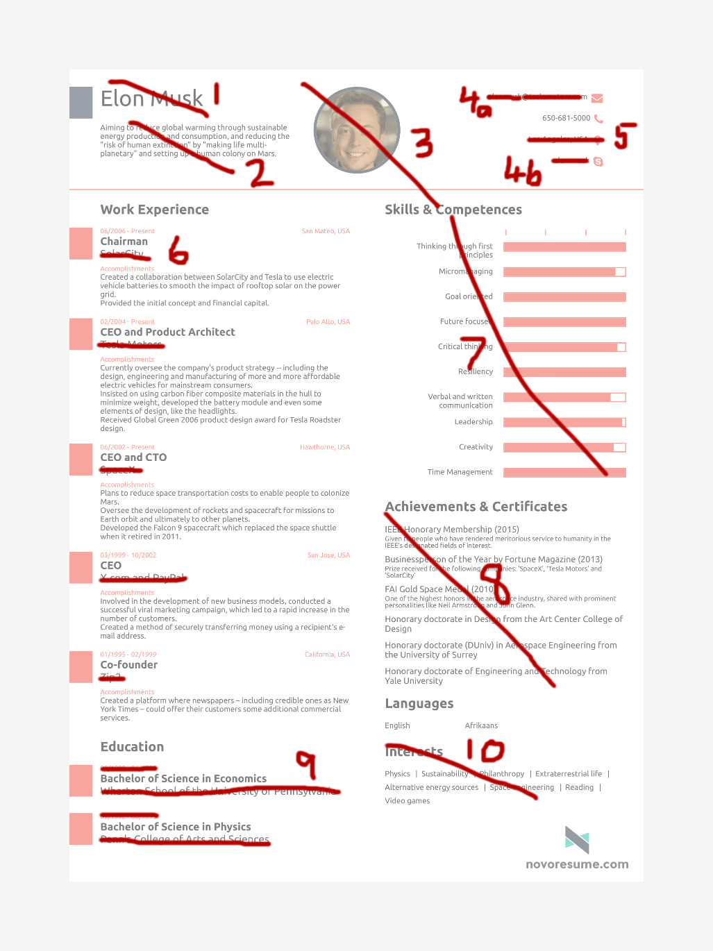 resume 1 page or 2