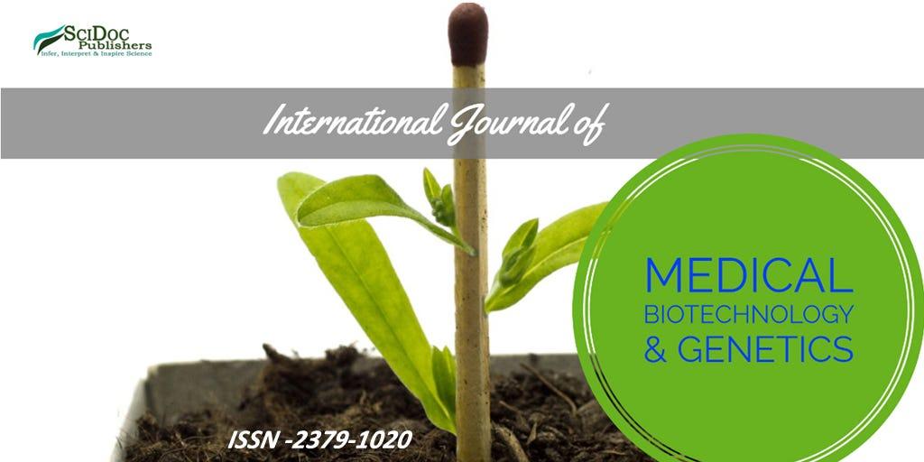 International Journal of Medical Biotechnology  Genetics ISSN 2379