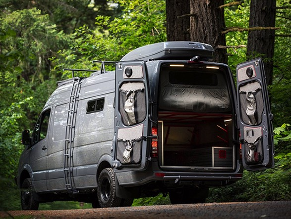 Outside Vans Valhalla Is A 4x4 Adventure Mobile