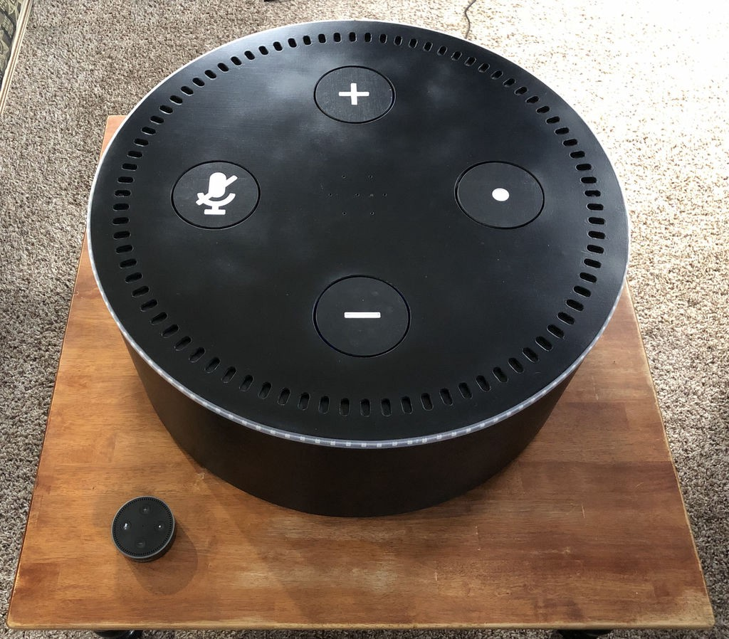 Echo Dot Installation Echo Dot Failing To Drop The Bass Build Your Own Gigantic