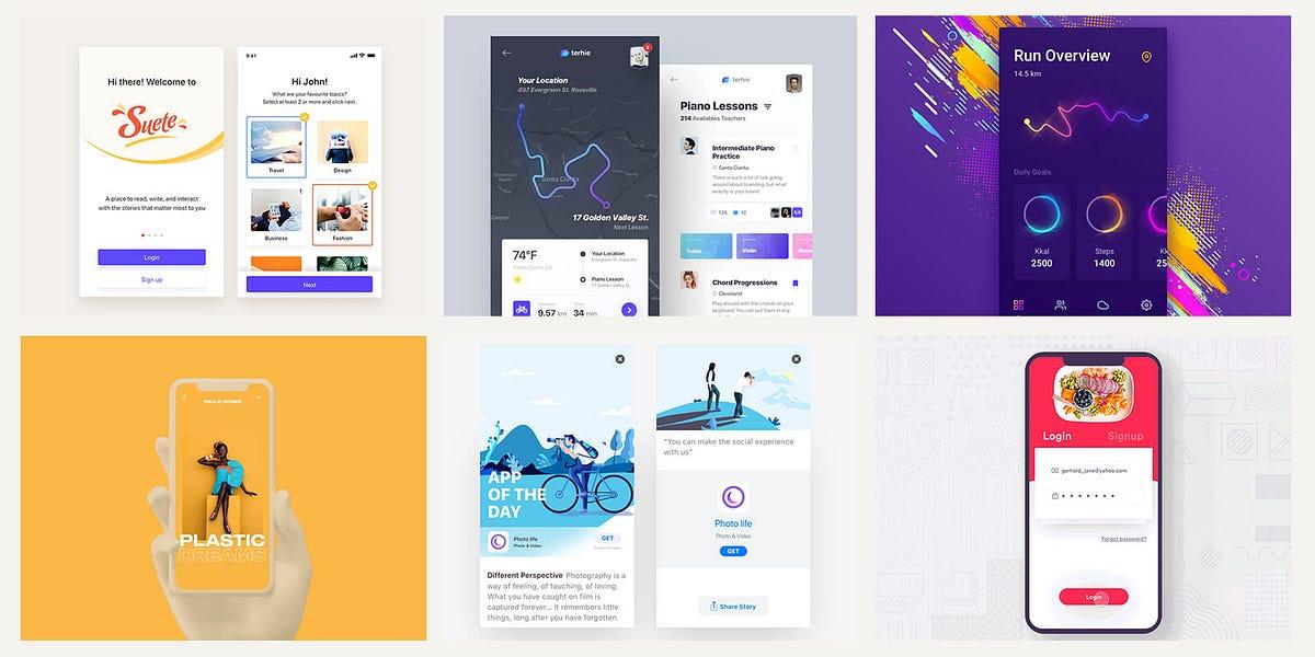 Cool Mobile UI Inspiration \u2013 Muzli - Design Inspiration