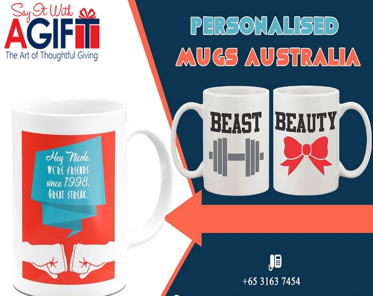 Design Mug Online Design Your Own Personalised Mugs In Australia Say It With A