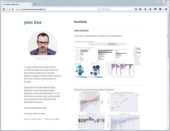 Set Up Your Portfolio Website in Less Than 10 Minutes with Github Pages