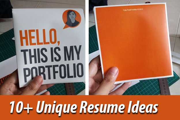 10+ Creative Resume Design Ideas That You Would Love To Steal