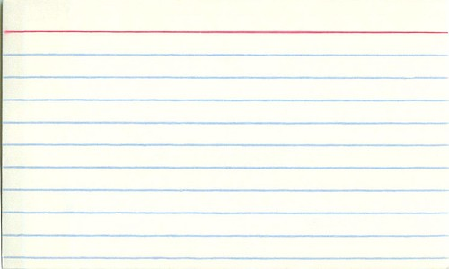 Screenwriting Tip Index Cards \u2013 Go Into The Story