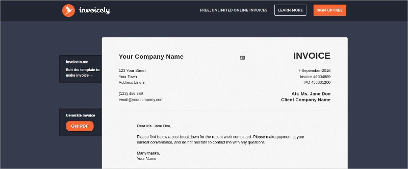 15 FREE  PAID ONLINE INVOICING PLATFORMS FOR STARTUPS/SME\u0027S - online invoices free