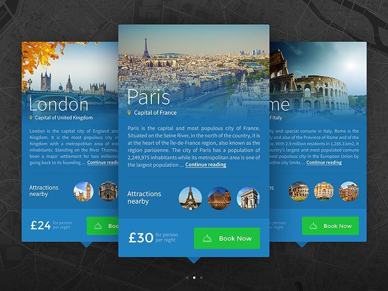 Web design inspiration #1163 u2013 From up North - web flyer