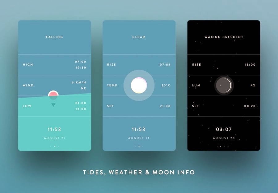 10 Best APP UI Design for Your Inspiration in 2017 \u2013 Mockplus \u2013 Medium
