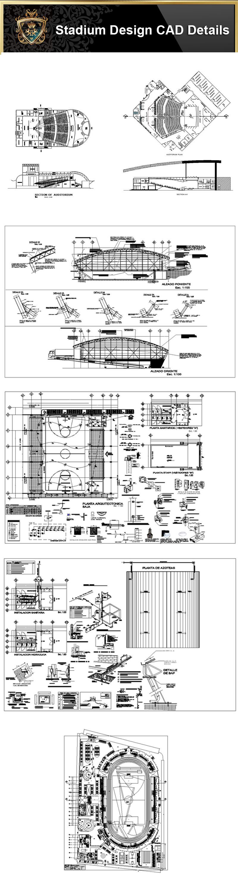 Autocad Blocks Stadium Cad Design Stadium Gymnasium Track And Field