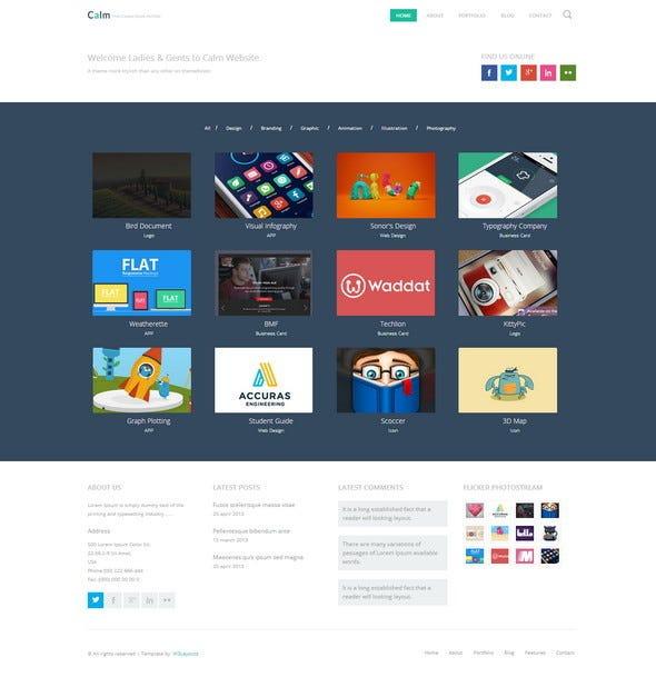 Free Responsive HTML5 CSS3 Website Templates \u2013 Level Up! \u2013 Medium
