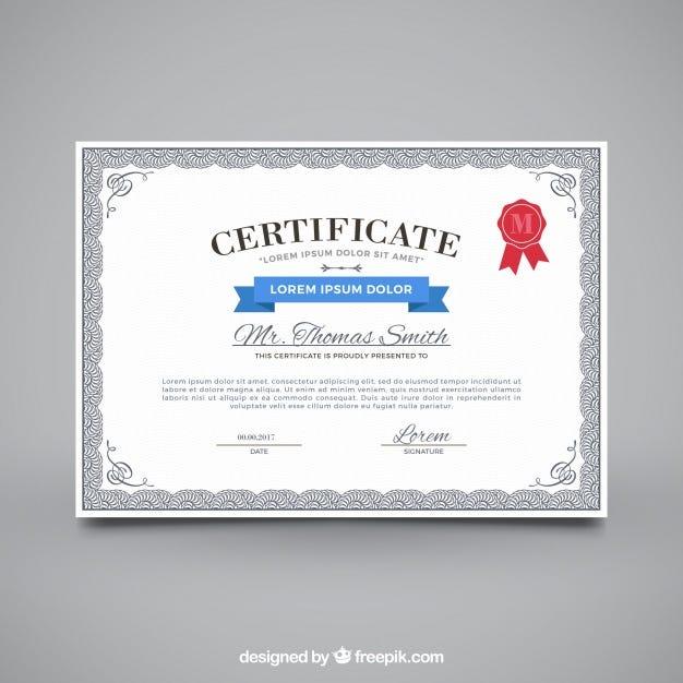 30 Free Certificate Templates \u2013 TemplateMonster \u2013 Medium