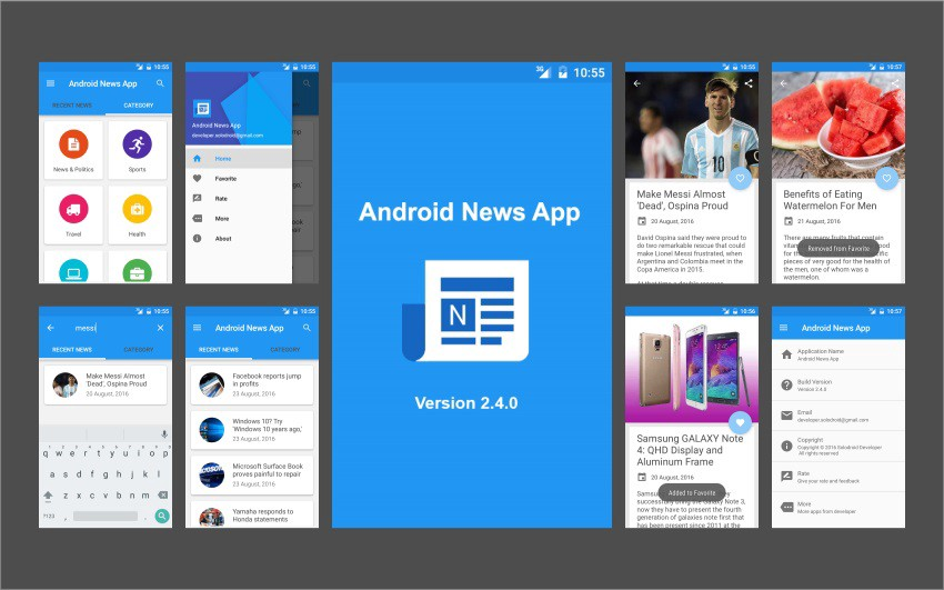 9 of the Best Mobile App Templates of 2018 on Android  iOS