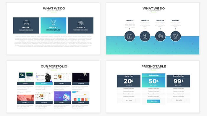 Free and Premium PowerPoint Templates \u2013 56 pixels \u2013 Medium