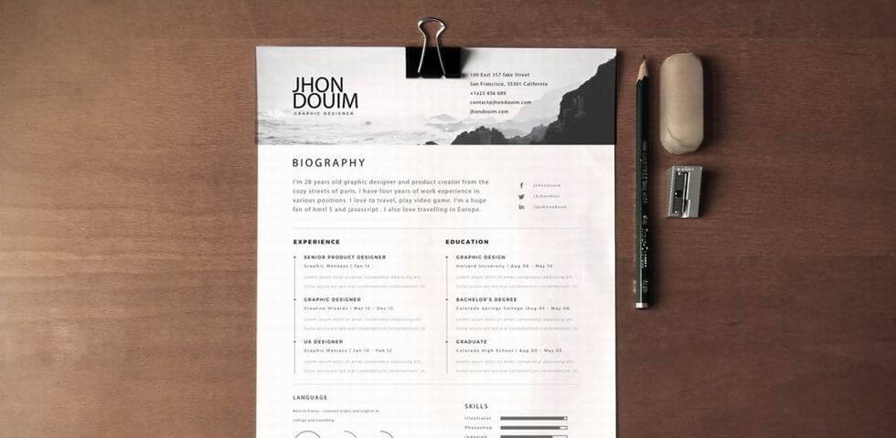 5 Secrets To Design An Excellent UX Designer Resume and Get Hired - Resume Design
