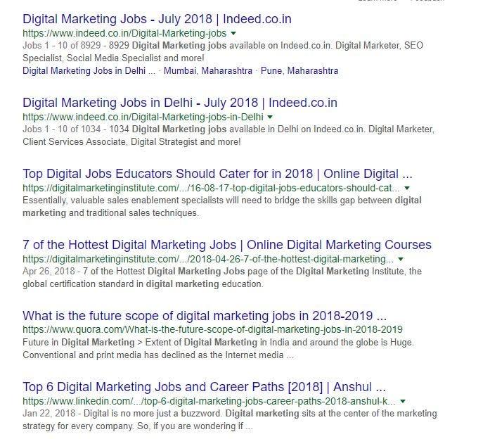 Top 10 Digital Marketing Interview Questions 2018 \u2013 Digital Dhairya - marketing interview questions