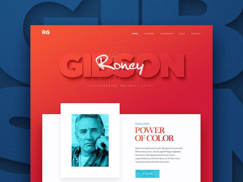 20 bold design inspiration \u2013 Muzli - Design Inspiration