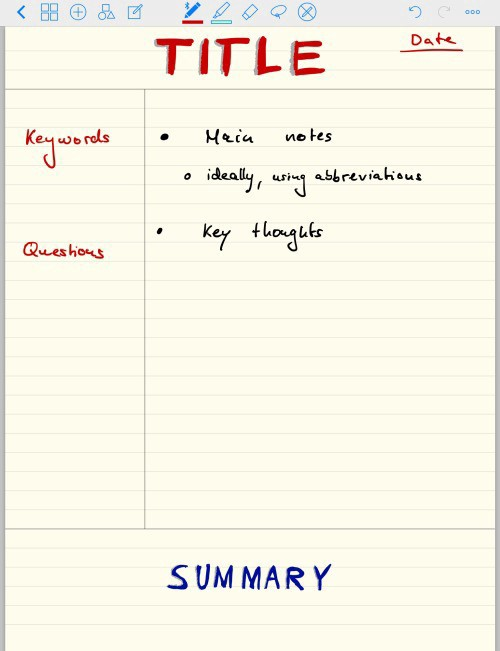 The Best Note-Taking Methods \u2013 GoodNotes Blog