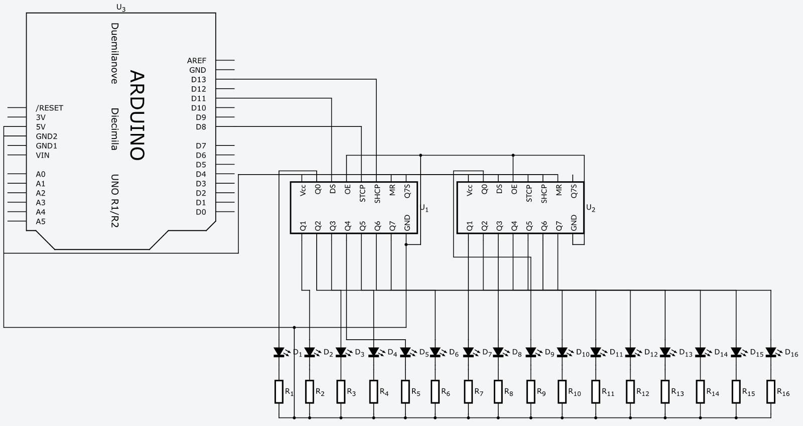 shift registers and the spi bus