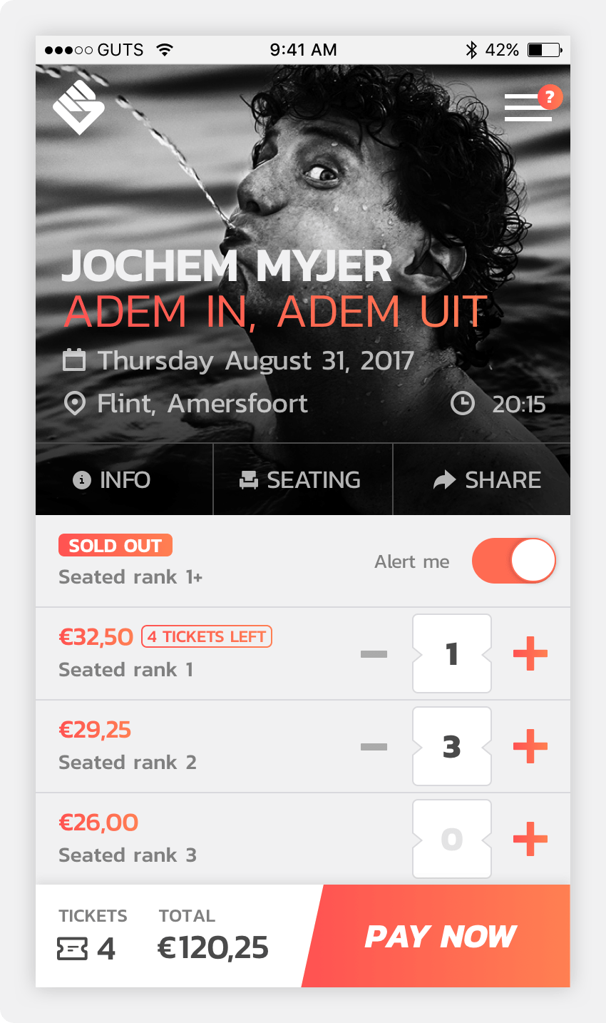 The Jochem Myjer Pilot 700 Smart Tickets Sold On The Blockchain - Jochem Myjer Tickets