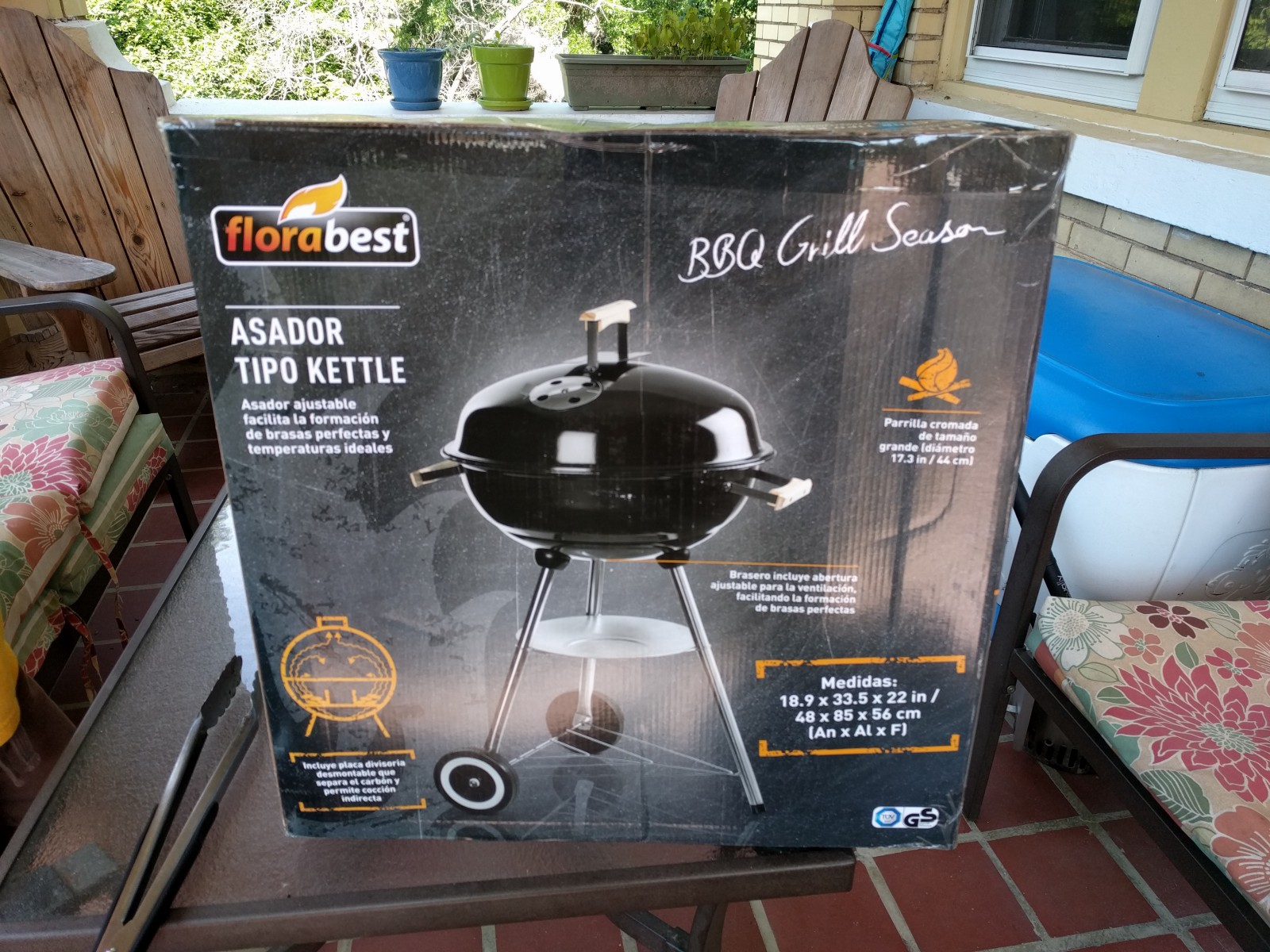 Florabest Bbq Lidl Kettle Grill Some Assembly Required James Sp Medium